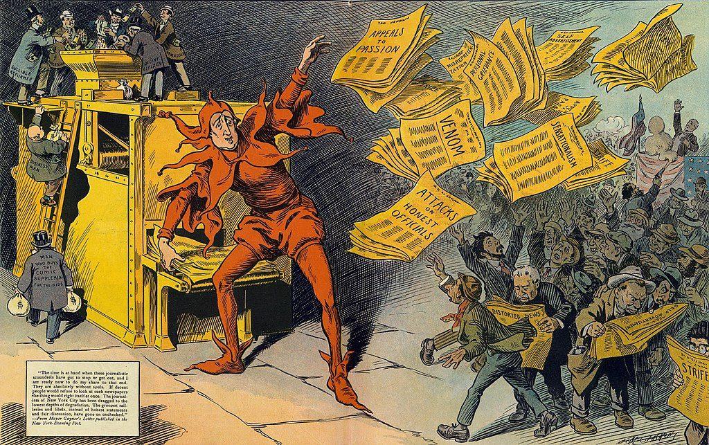"""""""The Yellow Press"""" - L. M. Glackens"""