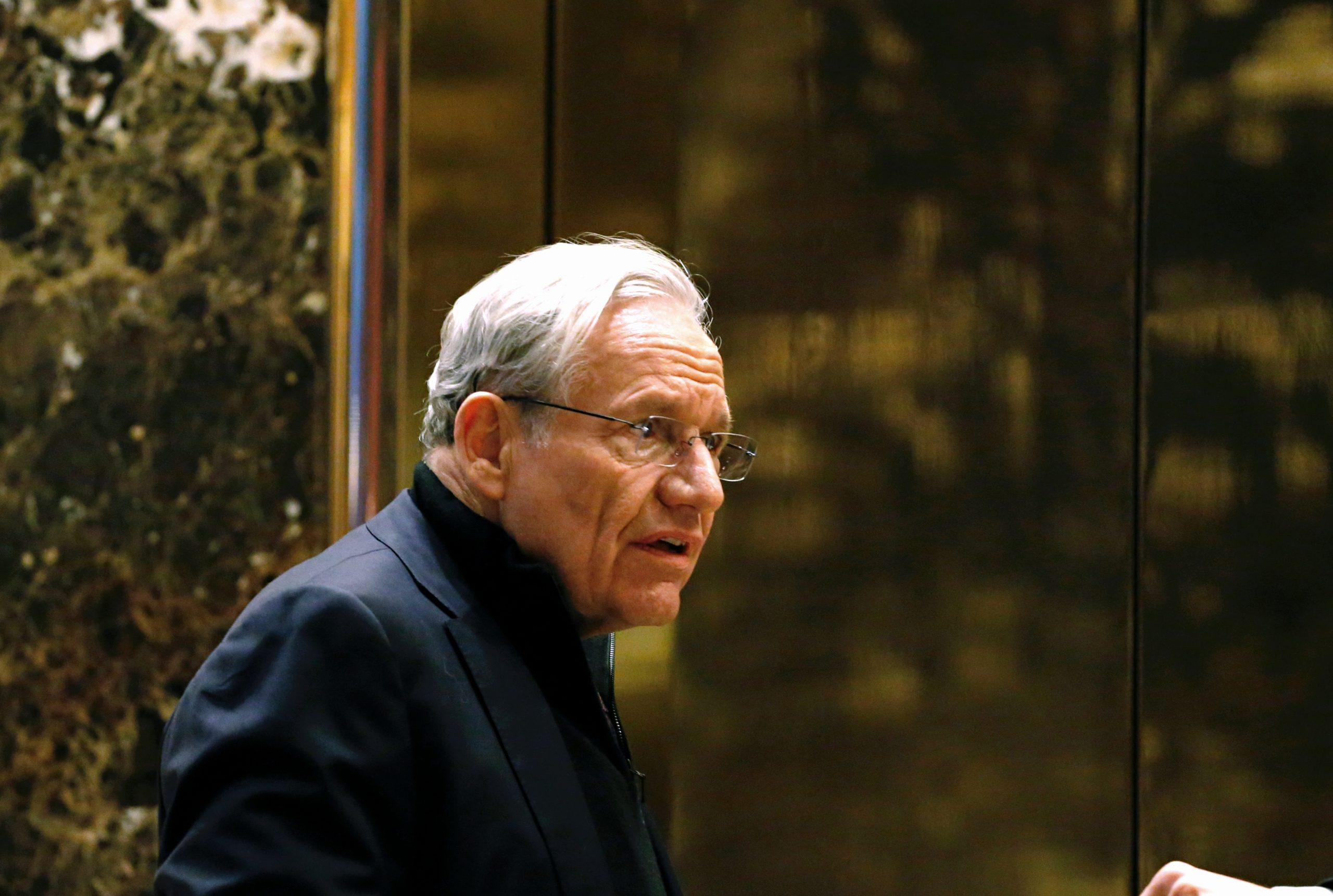 Photo of Bob Woodward. KENA BETANCUR/AFP