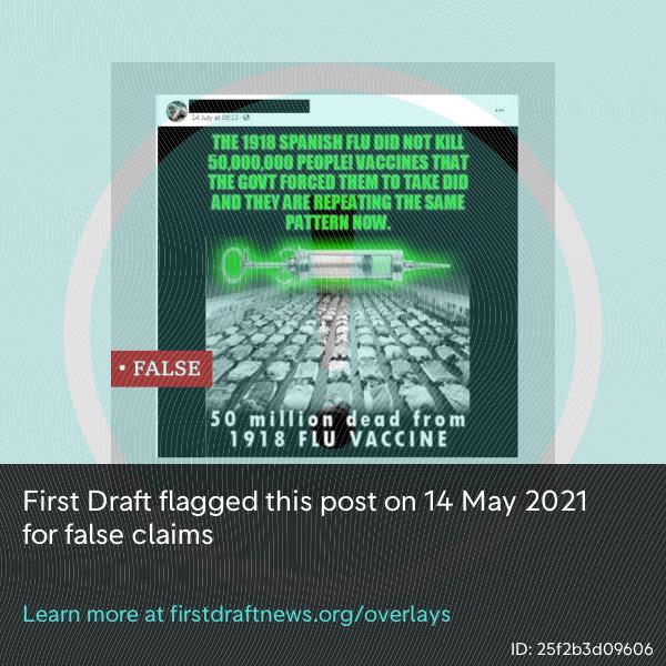 Yanlış bilgi haberlerinde doğru görsel kullanımına bir örnek.