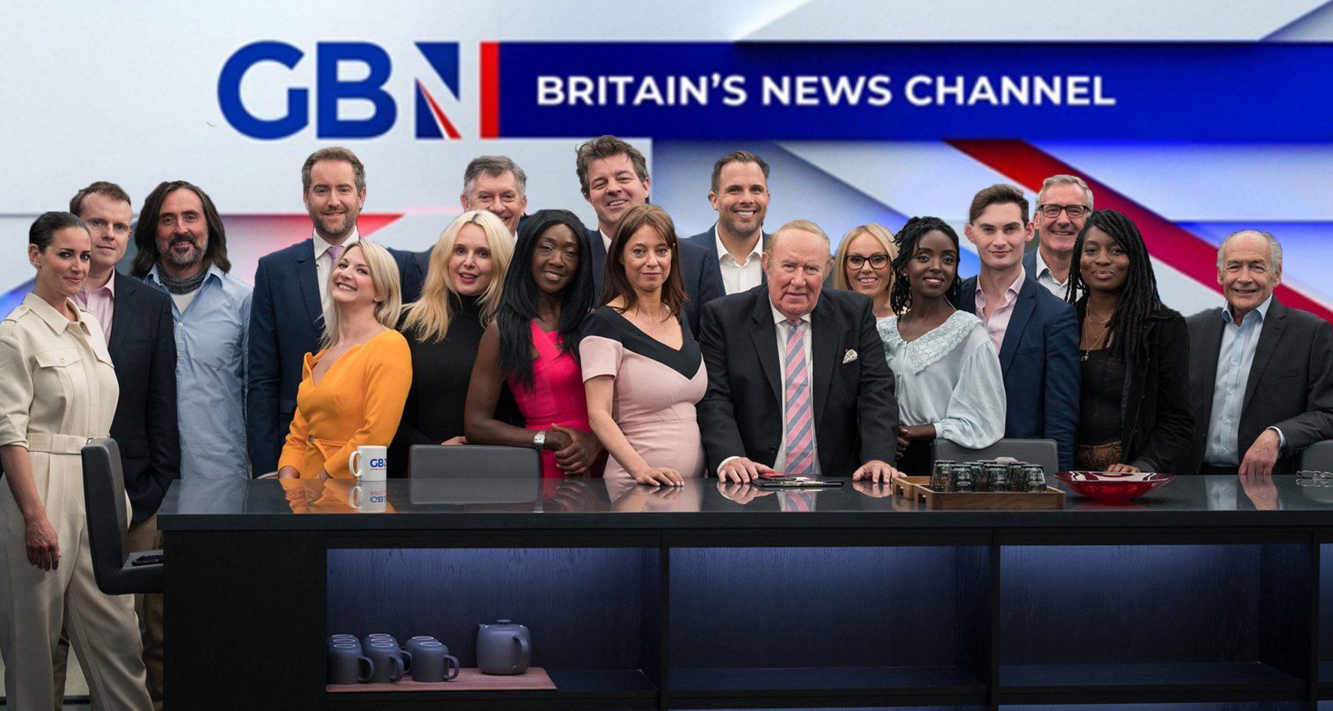 GB News ekibinin toplu fotoğrafı